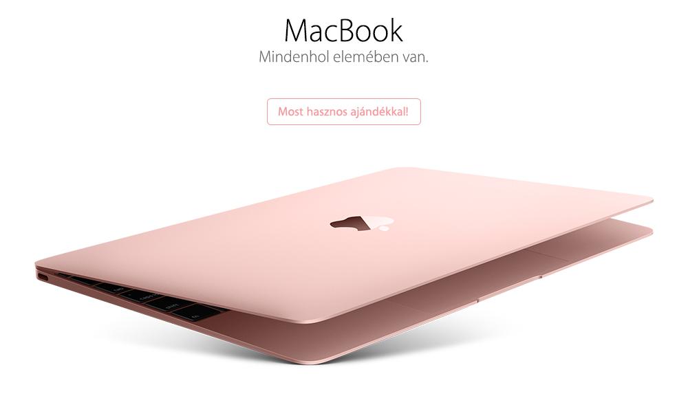 MacBook vásárlása a legjobb áron, ajándékkal!