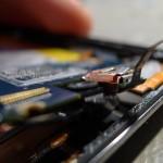 Érintőpanel és LCD csatlakozója