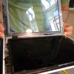 LCD és üveg