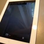 A pormentesen összerakott és működő iPad