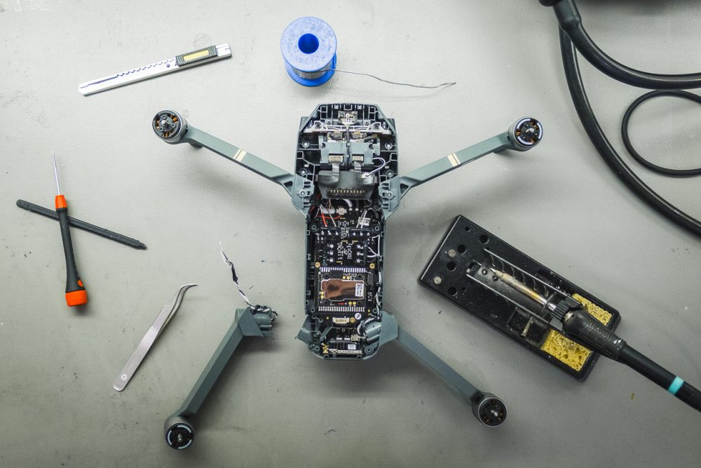 Mavic Pro törött karjának cseréje, dji mavic pro, dji drón bolt, drón vásárlása, drón webshop, törött drón, dji care, a legjobb drone