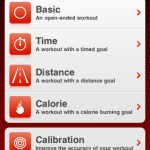 Nike+ iPhone app