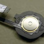 iPhone 4 fekete Home gomb elektronika tányérrugóval