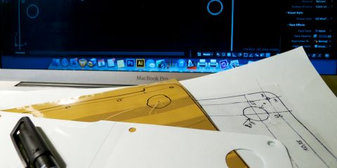 MacBook Air fólia tervezése