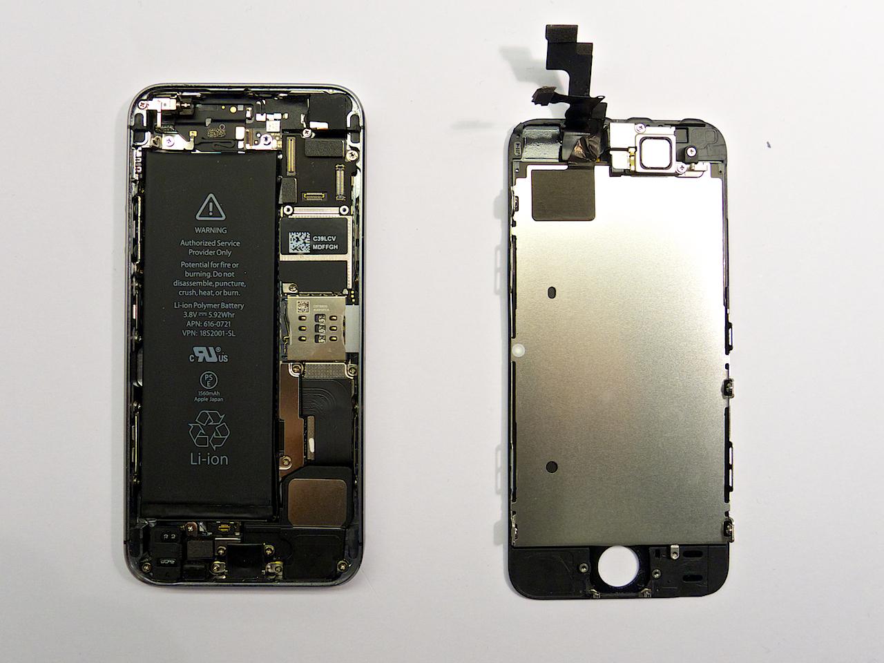iphone 5s kijelzőcsere, iphone 5s előlap, iphone 5s kijelző