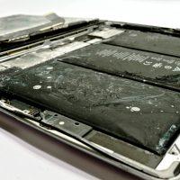 Duzzadt akkumulátor, beázott iPad javítása