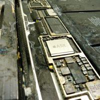 Beázás nyomok mindenütt, beázott iPad javítása