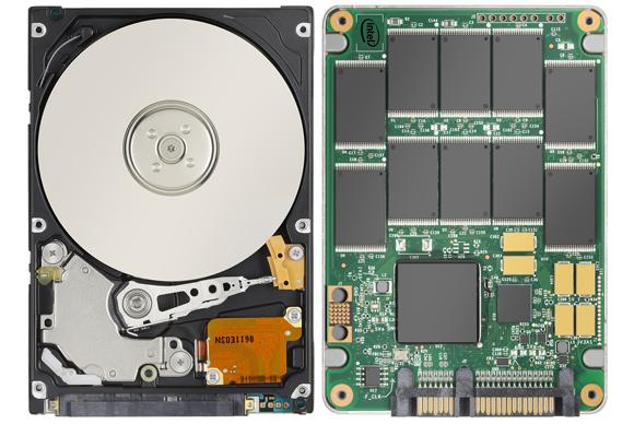 HDD és SSD képe