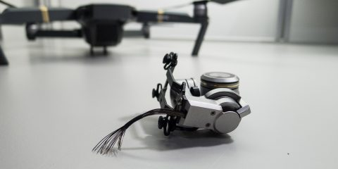 Mavic Pro – Kiszakadt gimbal-kamera
