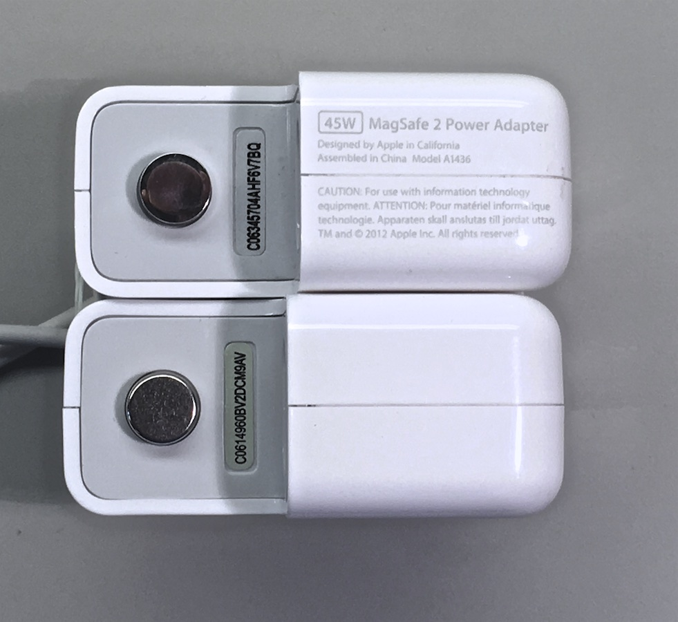 MagSafe töltők összehasonlítása (eredeti vs utángyártott)