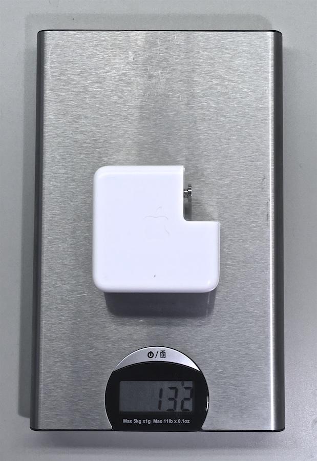 Eredeti MagSafe töltő súlya