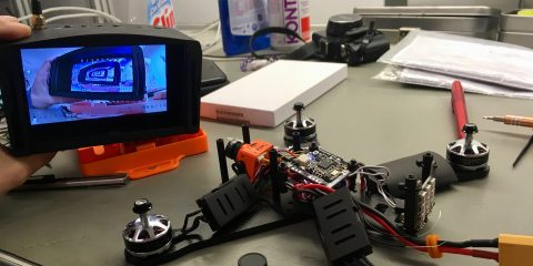 FPV drónépítés