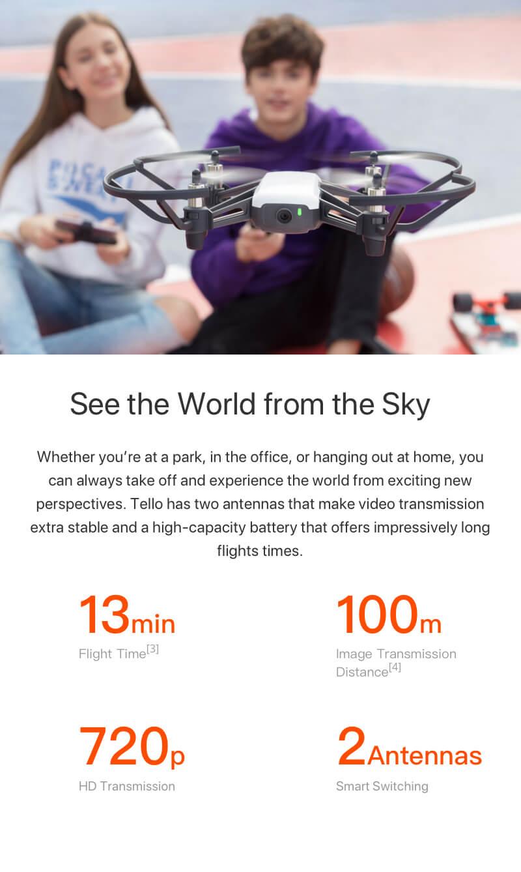 DJI Tello drón
