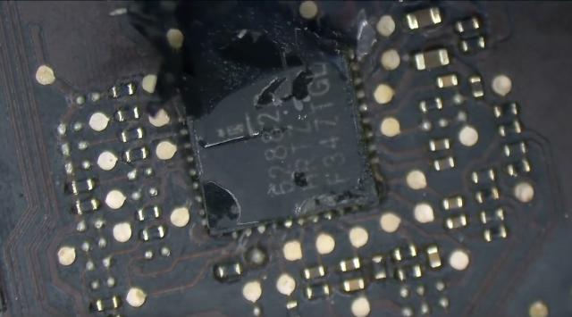 A chipvédő gumi - nem tartott sokáig, Apple csereprogram megoldás ... 2012 Retina MacBook Pro