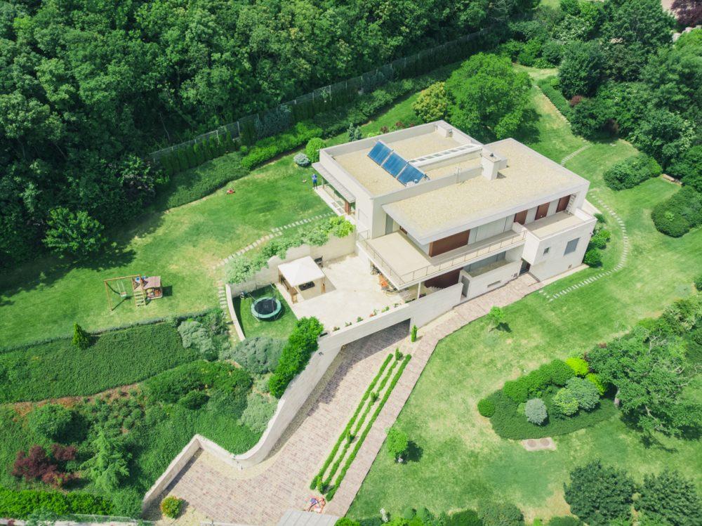 Ilyen változatos kertet nem egyszerű gondozni, drónfotók légifelvétel légifotó