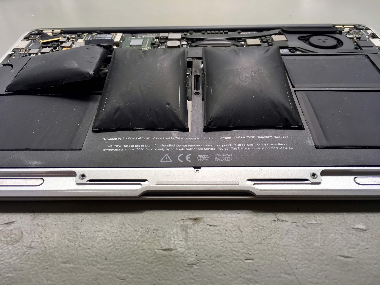 Duzzadt akku, MacBook