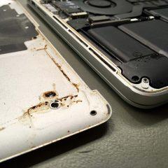 Egy kávézás nyomai a számítógépen– MacBook javítás...