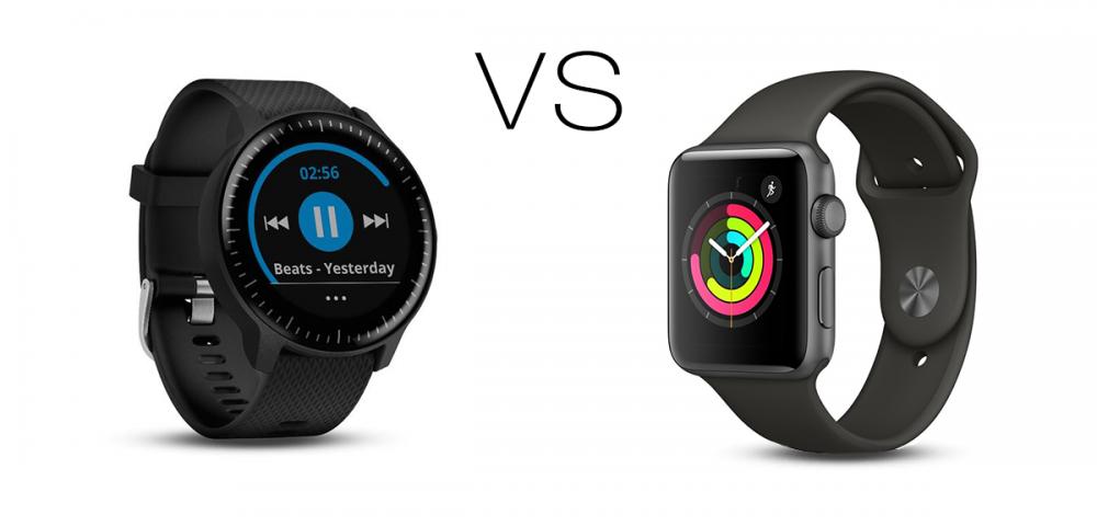 garmin vivoactive 3 music vs apple watch 3 series okosóra teszt, okosóra összehasonltó teszt, Apple watch 4 teszt hamarosan