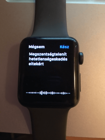 Összehasonlító teszt  Garmin vívoactive 3 music vs. Apple Watch 3 ... 3c18dc3cf6