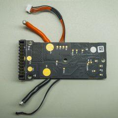 A töltésvezérlő elektronika hátoldala