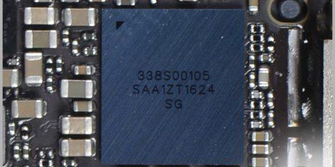 iPhone 7 Audio dekóder IC az alaplapon