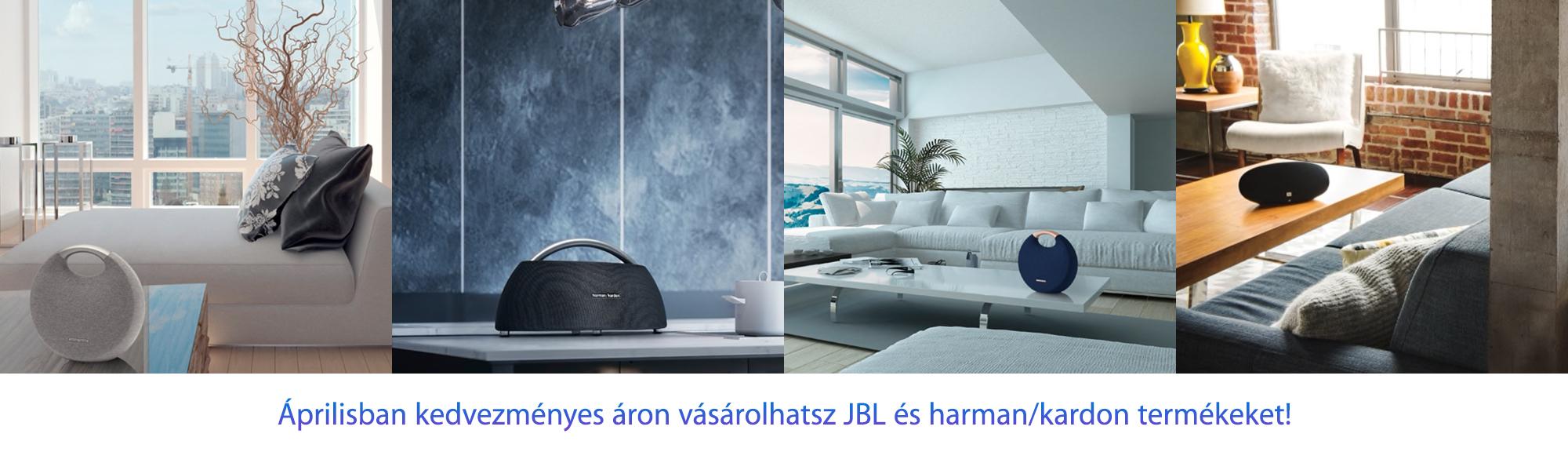 JBL és harman/kardon termékek kedvezményes áron
