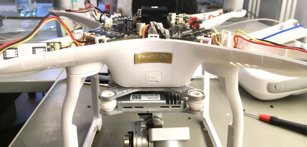 Phantom 3 Advanced teljeskörű javítása