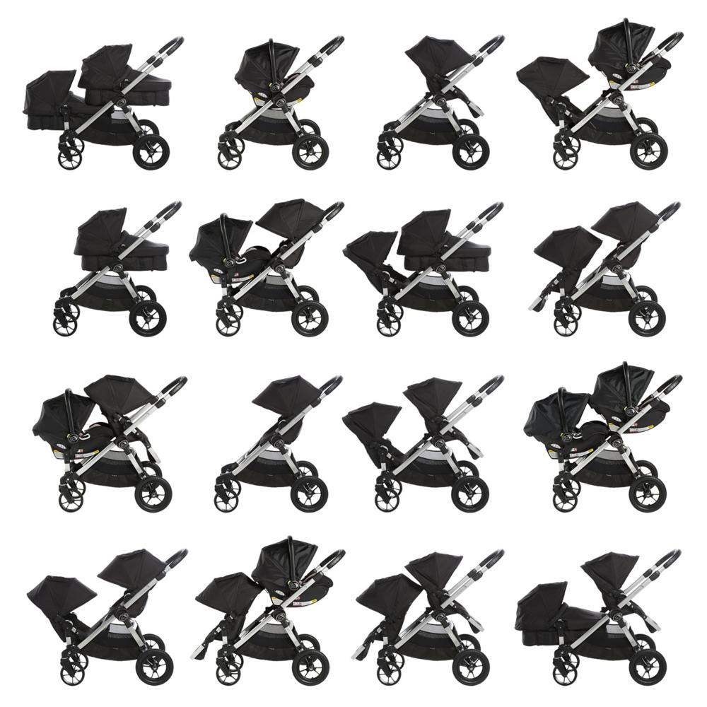 Baby Jogger City Select babakocsi lehetséges használati módjai