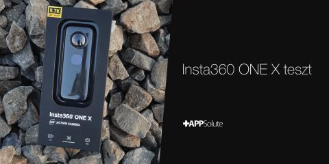 Insta360 ONE X teszt borítókép –a legjobb 360 fokos kamera?