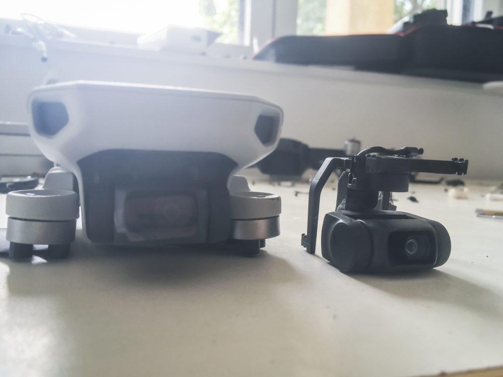 Már be tudunk szerezni gyári gimbal-kamera modult a Mavic Mini-hez is