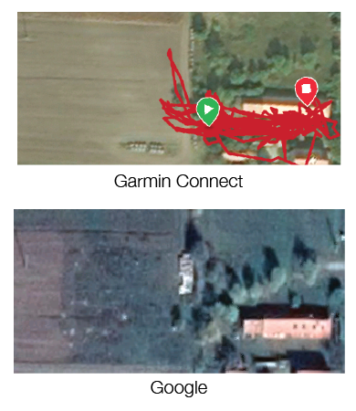 Garmin vs. Google térkép