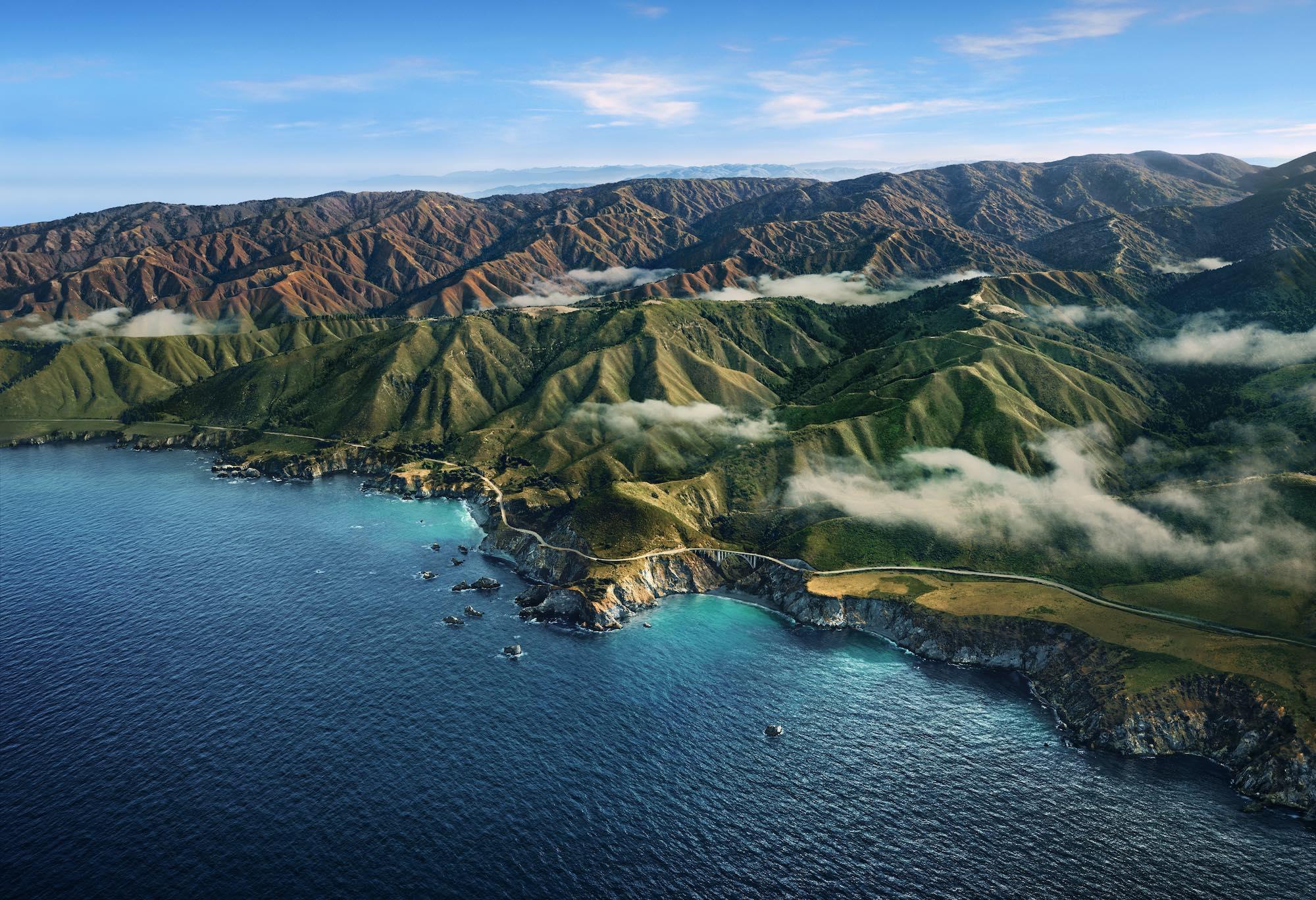Az új MacOS 11 névadó helyszíne: Big Sur, Kalifornia, USA