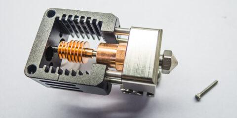 Prusa i3 MK3S átalakítása NF-Crazy hotend-del