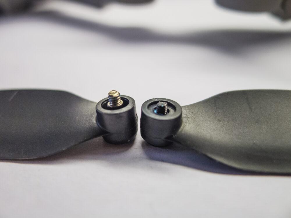 A Mini 2 propellerének csavarja hosszabb